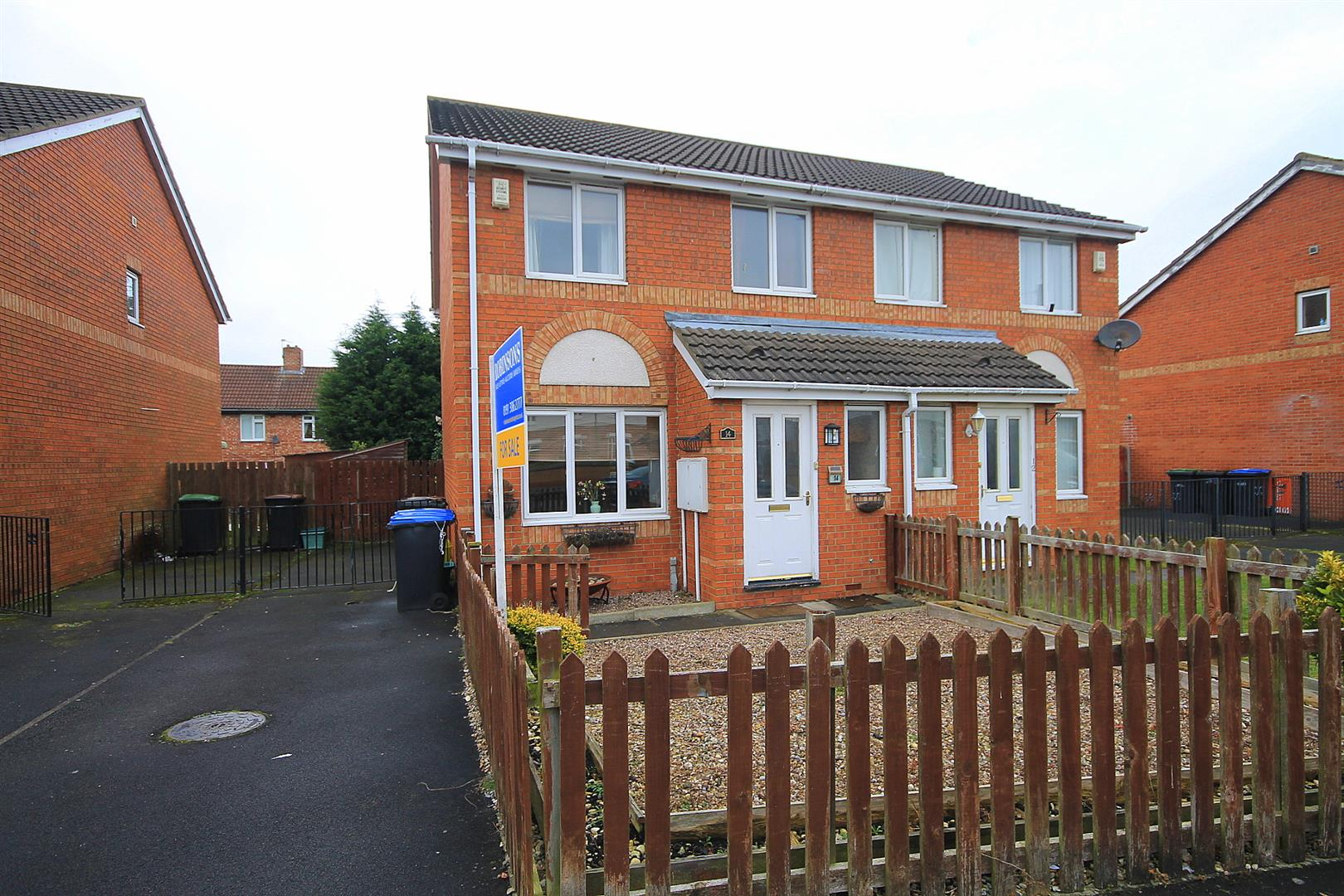 3 Bedrooms Semi Detached House for sale in Habgood Drive, Gilesgate, Durham